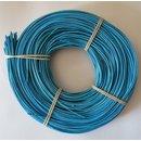 2,25 mm Peddigrohr 500g blau rotband auf der Rolle