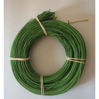 2,25 mm Peddigrohr 500g grün rotband auf der Rolle