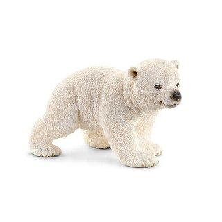 Eisbärjunges, laufend