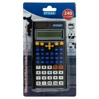 Schulrechner, 240 Funktionen, Dual