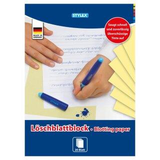 Löschblattblock, DIN A4, 20 Blatt