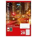 Schulheft, Lineatur 28, DIN A4, 16 Blatt, FSC
