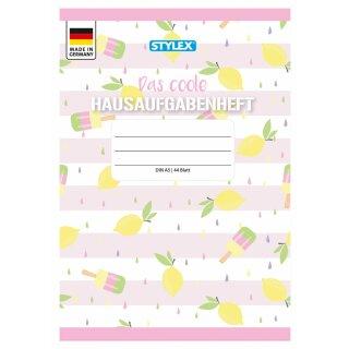 "Hausaufgabenheft, ""das Coole"", DIN A5, 44 Blatt"
