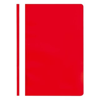 Schnellhefter, PP, DIN A4, rot