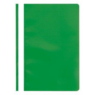 Schnellhefter, PP, DIN A4, grün