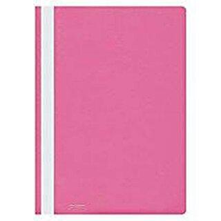 Schnellhefter, PP, DIN A4, pink