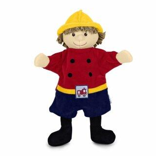 original, Handpuppe Feuerwehrmann