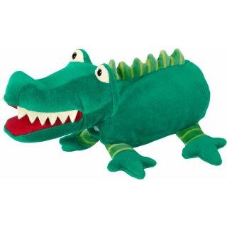 original, Handpuppe Krokodil