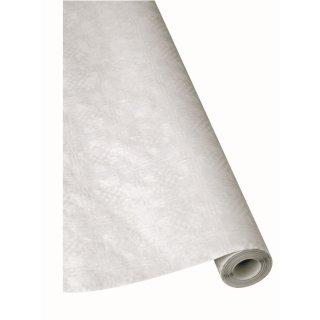 Damast-Tischtuchpapier-Rolle Linea® Festival, 100cmx10m, weiß