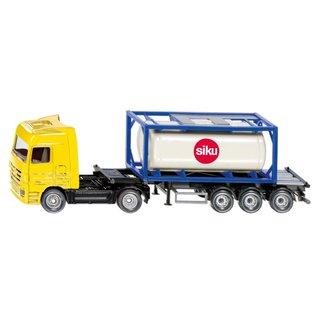 LKW mit Tankcontainer