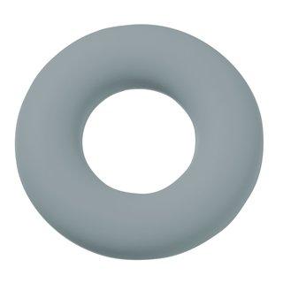 Schnulli-Silikon Ring 4,5 cm, grau