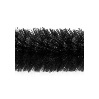 Chenilledraht, Ø12mm, 30 cm, 8 Stück, schwarz,