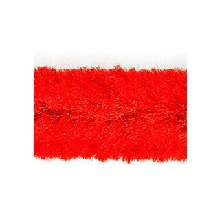 Chenilledraht, Ø12mm, 30 cm, 8 Stück, rot,