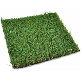 Grasplatte 25 x 25 x 1 cm  / Kunstrasen,