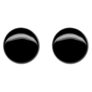Glasaugen für Tiere, ø 8mm, 50 Stück, schwarz, Großgebinde