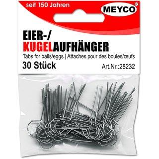 Kugel/Eieraufhänger, 30 Stck.p.SB-Btl.,