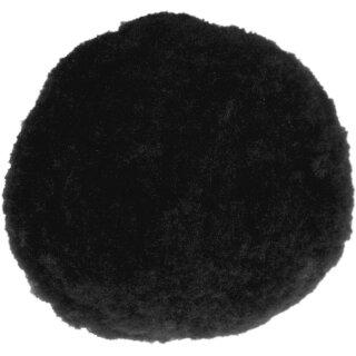 Pom Pom, 7 mm, 60 Stck.p.SB-Btl. -schwarz-,