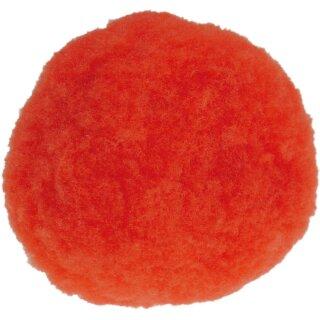 Pom Pom, 7 mm, 60 Stck.p.SB-Btl. -rot-,