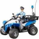 bworld Polizei-Quad mit Polizist und Ausstattung