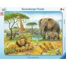 Afrikas Tierwelt, 30-48 T. Rahmenpuzzles
