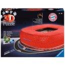 Allianz Arena bei Nacht, 3D Puzzle-Bauwerke