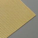 Wachsstreifen, gold glänzend, Perle, 200 x 2 mm, 7 Stk.