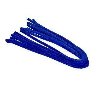 Pfeifenputzer, blau, , ø 8 mm / 50 cm, 10 Stk.