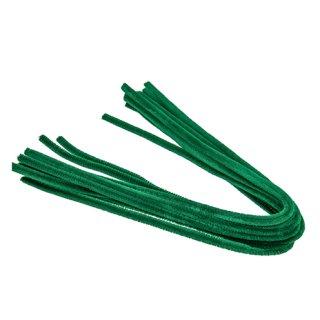 Pfeifenputzer, grün, , ø 8 mm / 50 cm, 10 Stk.