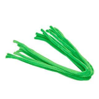 Pfeifenputzer, hellgrün, , ø 8 mm / 50 cm, 10 Stk.