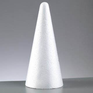 Styroporform, , Kegel, ø 70 x 120 mm,