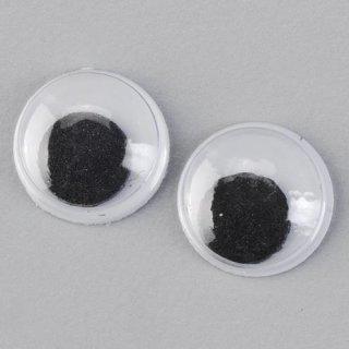 Wackelaugen, , rund, ø 12 mm, 10 Stk.