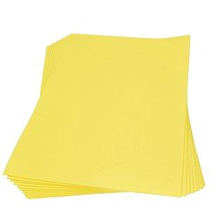Moosgummiplatte, gelb, , 300 x 450 x 2 mm,