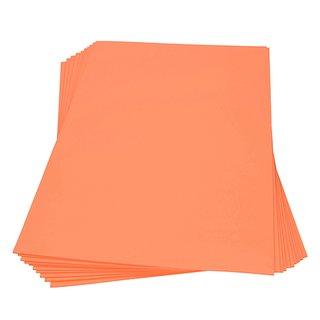 Moosgummiplatte, orange, , 300 x 450 x 2 mm,