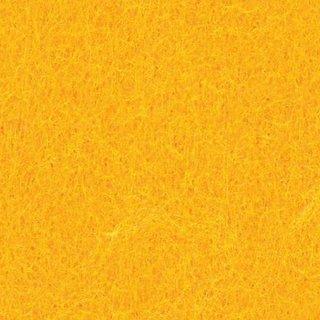 Filzplatte, gelb, für Dekorationen, 30 x 45 cm x ~2,0 mm, ~350 g/m²