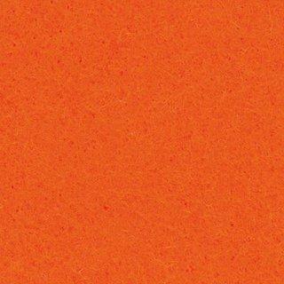 Filzplatte, orange, für Dekorationen, 30 x 45 cm x ~2,0 mm, ~350 g/m²