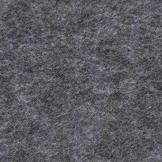 Filzplatte, schwarz meliert, für Dekorationen, 30 x 45 cm x ~2,0 mm, ~350 g/m²