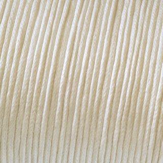 Baumwollkordel gewachst, creme, , ø 1 mm,