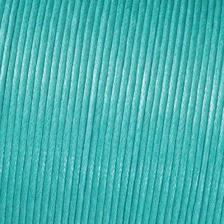 Baumwollkordel gewachst, helltürkis, , ø 1 mm,
