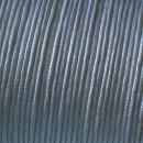 Baumwollkordel gewachst, grau, , ø 1 mm,