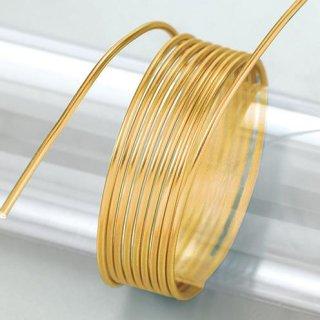 Aludraht eloxiert, gold, , ø 2 mm, 5 m / ~ 42 g