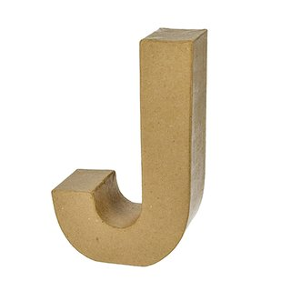 Buchstabe, , J, H 17,5 x B 11,1 x T 5,5 cm,