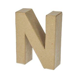 Buchstabe, , N, H 17,5 x B 13,8 x T 5,5 cm,