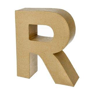 Buchstabe, , R, H 17,5 x B 15 x T 5,5 cm,