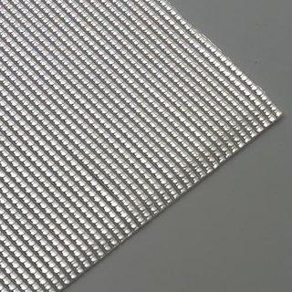 Wachsstreifen, silber glänzend, Perle, 200 x 2 mm, 27 Stk.