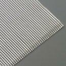 Wachsstreifen, silber glänzend, Perle, 200 x 2 mm,...