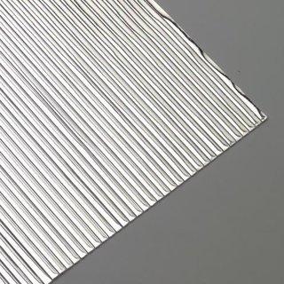 Wachsstreifen, silber glänzend, flach, 200 x 1 mm, 30 Stk.