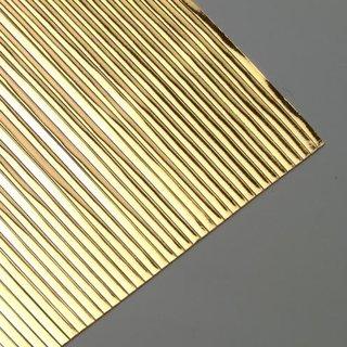 Wachsstreifen, gold glänzend, flach, 200 x 1 mm, 30 Stk.