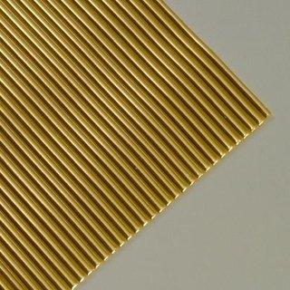 Wachsstreifen, gold glänzend, rund, 200 x 2 mm, 10 Stk.