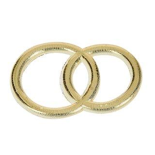 Wachsdekor, gold glänzend, Eheringe, 30 mm, 1 Stk.