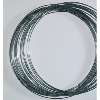 Aludraht, silber, , ø 2 mm, 20 m / ~ 170 g